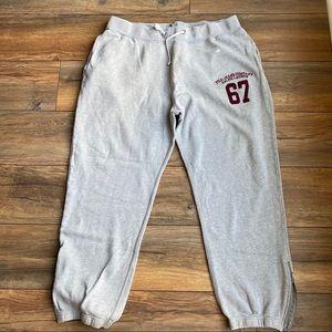 {preloved} Men's Polo Side Zip Sweatpants